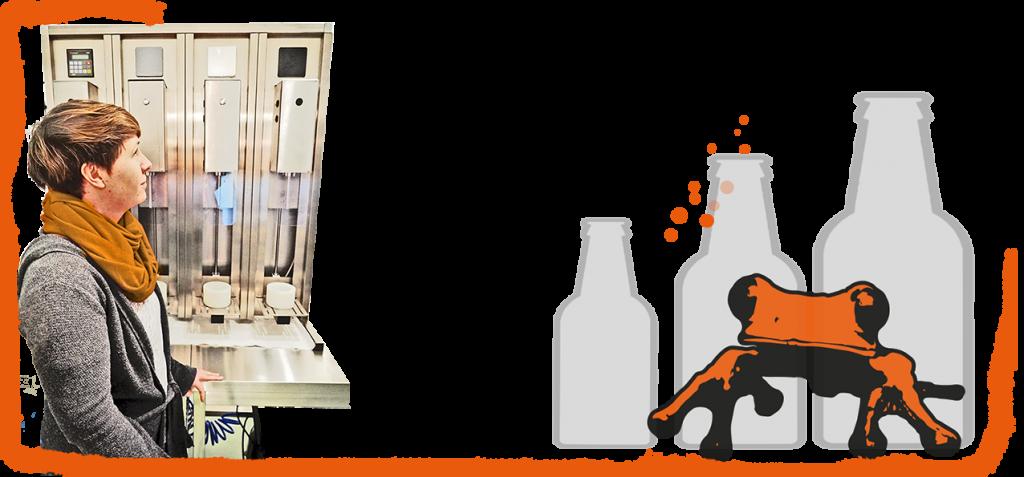 Bottle Guard Gegendruck Flaschenfüllgerät